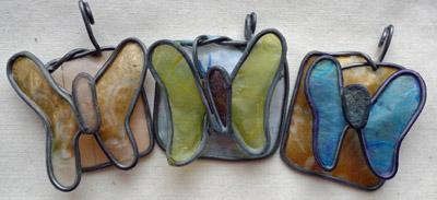 Butterfly pendants by Maike's Marvels