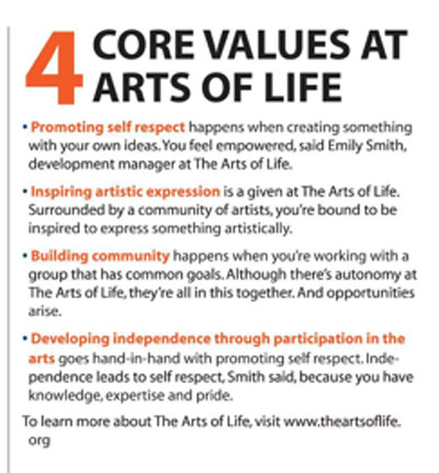 Arts of Life Core Values