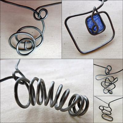 Necklace details Maike's Maraviglia
