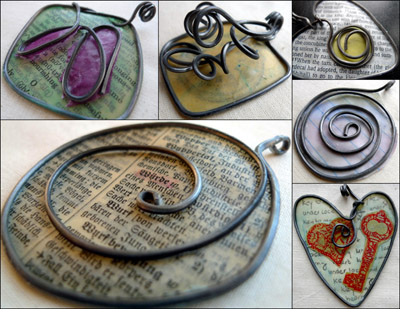 More pendants by Maike's Marvels