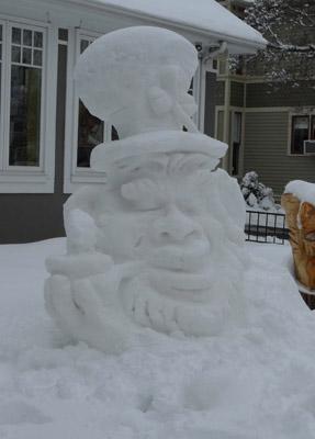 Snow Sculpture by Joseph