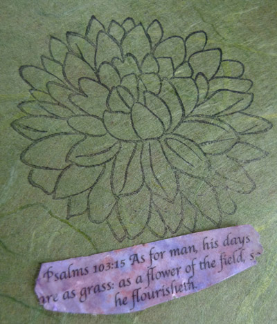 Psalms 103:15 pendant by Maike's Marvels