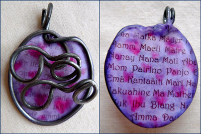 Mamm Mati pendat by Maike's Marvels