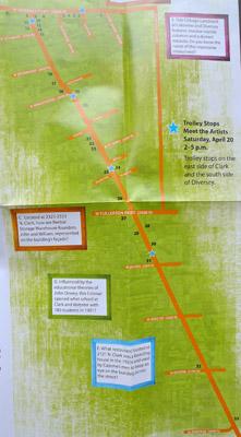 Artrageous Lincoln Park Map