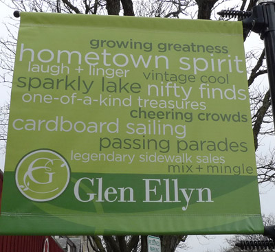 Glen Ellyn sign