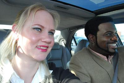 Erica DaShan on a road trip