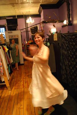 Twirling in my new dress - photo by www.Massupdater.com