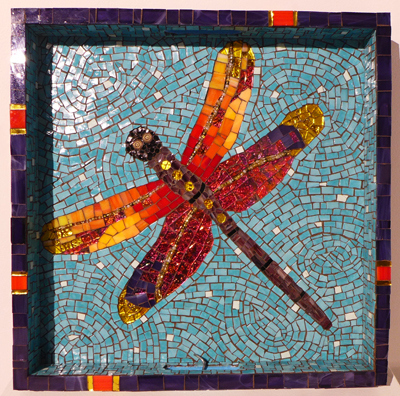 Lissa Watters Dragonfly tray
