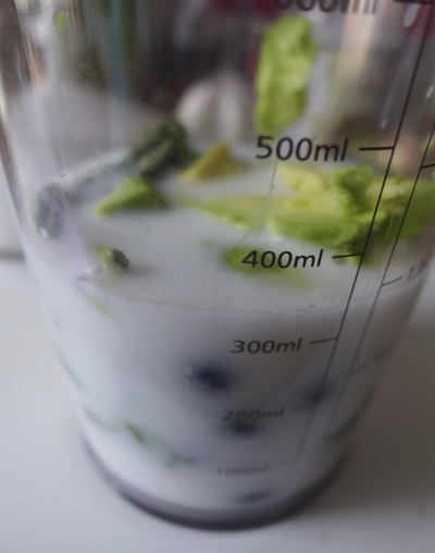 AvocadoBlueberryBasilSmoothie
