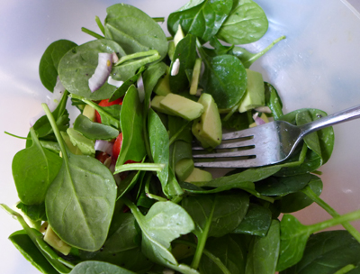 spinachsalad