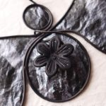 Black Angel Ornament by Maike's Marvels