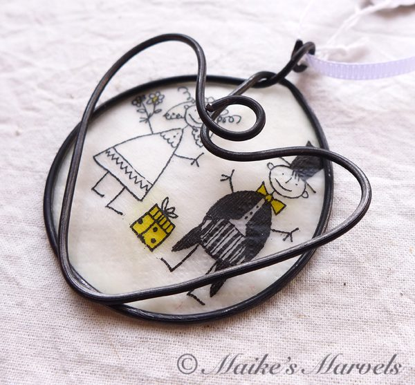 Wedding Ornament by Maike's Marvels