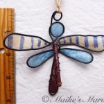 Dragonfly Ornament by Maike's Marvels