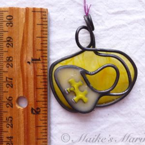 Puzzle Ornament by Maike's Marvels