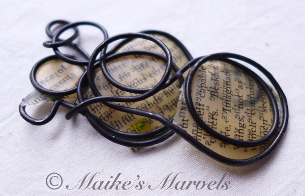 Maike's Marvels Wax and Wire Pendant