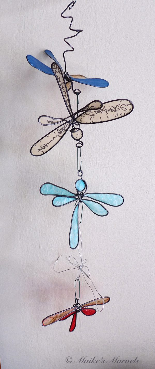 Maike's Marvels Dragonfly Ornament Mobile